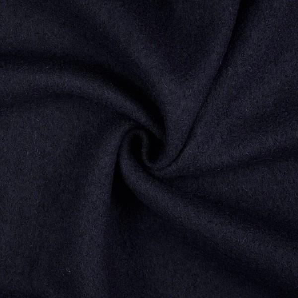 Walkloden-Laura-Walkstoff-100 % Wolle-Marine