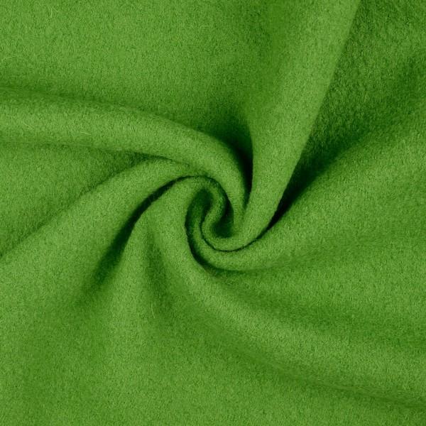 Walkloden-Laura-Walkstoff-100 % Wolle-Gelbgrün
