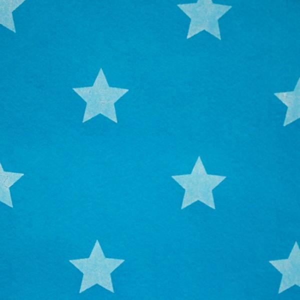 3,0 mm Filz-Stars-90 cm breit-Aqua