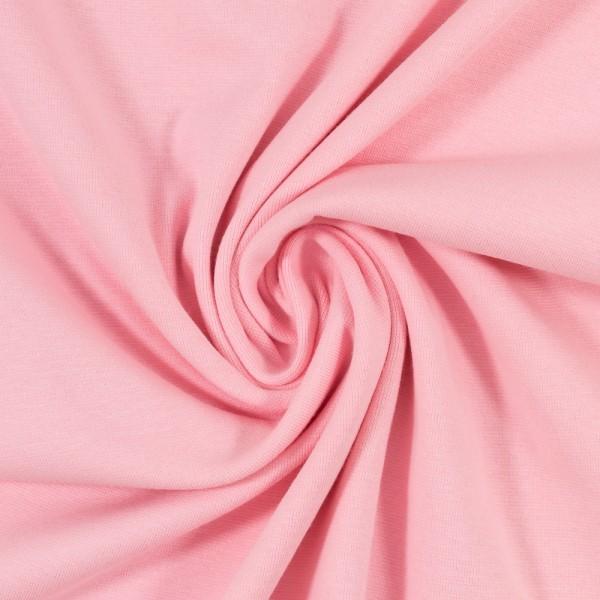 Bündchen-Heike-50er Schlauch-glatt-Rosa