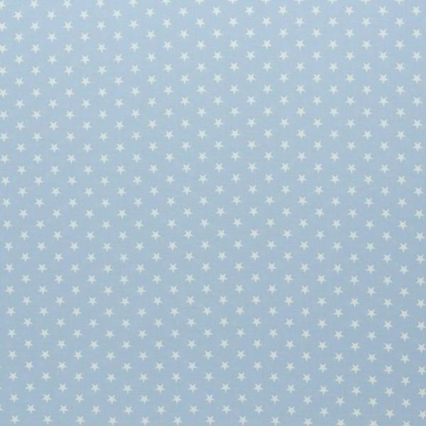 Baumwolle-Carrie-Sterne-Hellblau