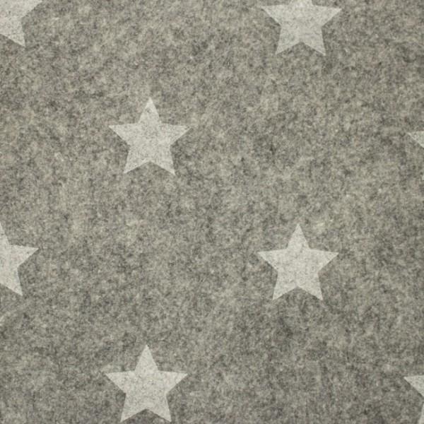 3,0 mm Filz-Stars-90 cm breit-Hellgrau