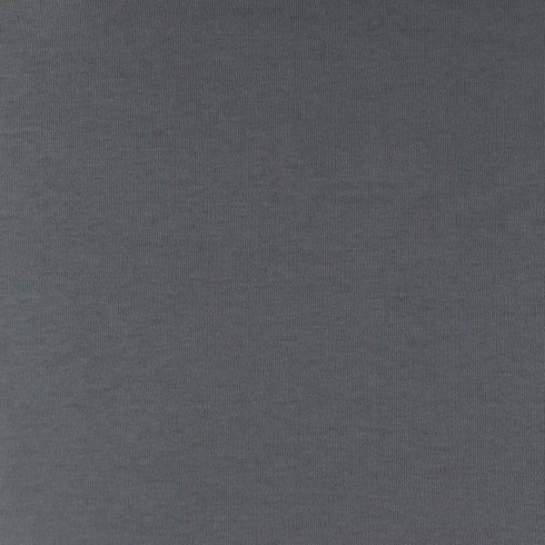 Interlock-Jersey-Iris-Grau