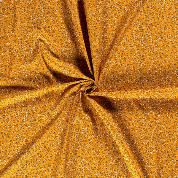 Baumwolle-Blumen-Ocker