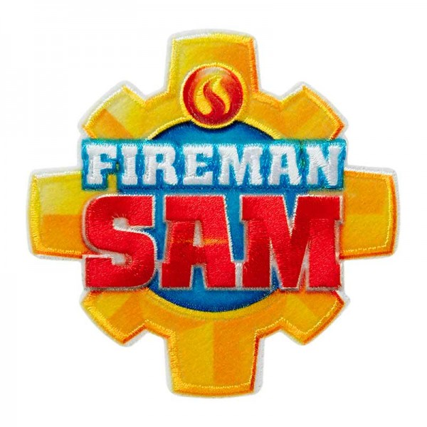 Aufbügler & Applikation-Fire Sam