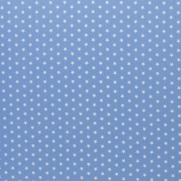 Baumwolle-Carrie-Sterne-Himmelblau