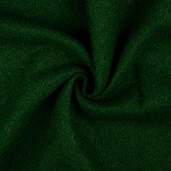 Walkloden-Laura-Walkstoff-100 % Wolle-Tannengrün