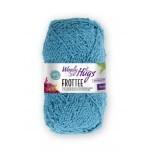 Woolly Hugs-Frottee-Türkis