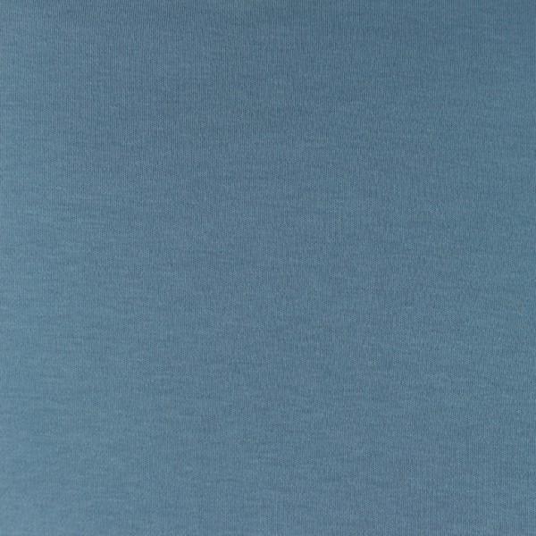 Interlock-Jersey-Iris-Altblau