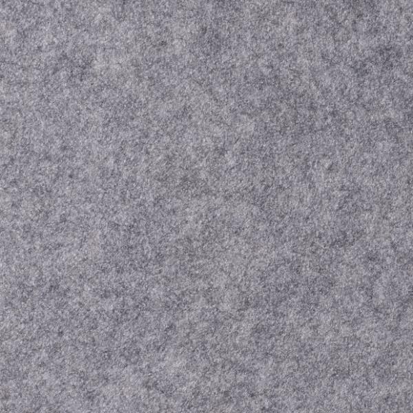 3,0 mm-Filz Phillipp-45 cm breit-Grau meliert