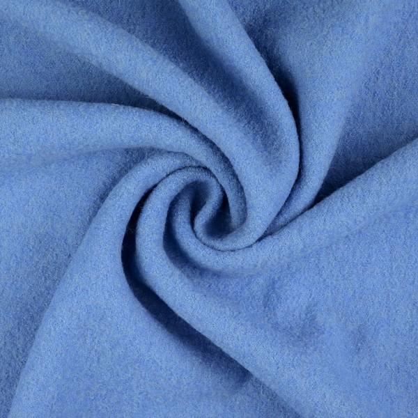 Walkloden-Laura-Walkstoff-100 % Wolle-Lichtblau