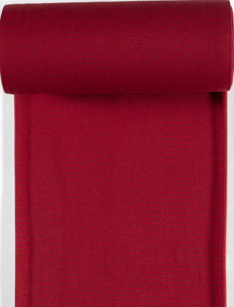 Bündchen-Steffi-35er Schlauch-Streifen-Bordeauxrot dunkel