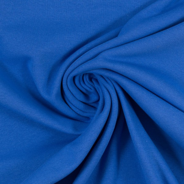 Bündchen-Heike-50er Schlauch-glatt-Royalblau