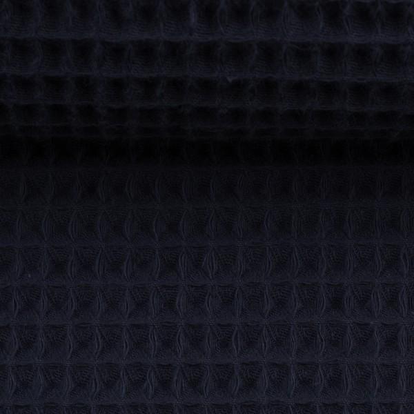 Waffelpique-Nelson-fein-Marine