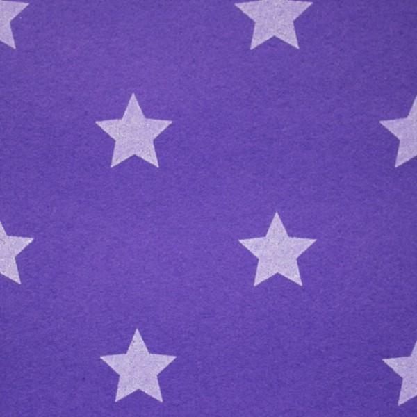 3,0 mm Filz-Stars-90 cm breit-Violett