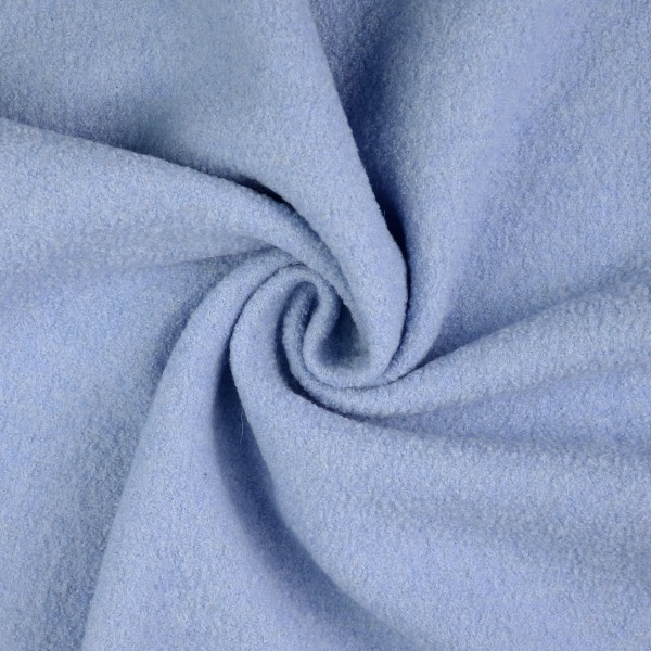 Walkloden-Laura-Walkstoff-100 % Wolle-Hellblau