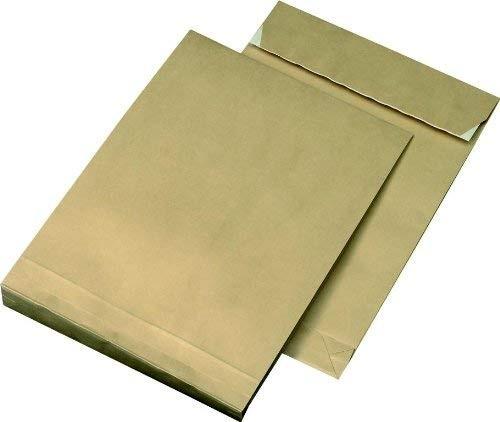 50 Versandtaschen B4 mit 4 cm Falte-150 g/m²