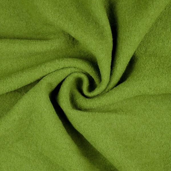 Walkloden-Laura-Walkstoff-100 % Wolle-Reingrün