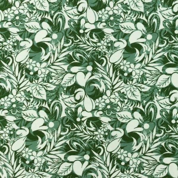 Jersey-Blumenbeet-Altgrün
