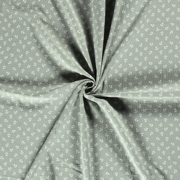 Musselin-Bärbel-Anker-Mint