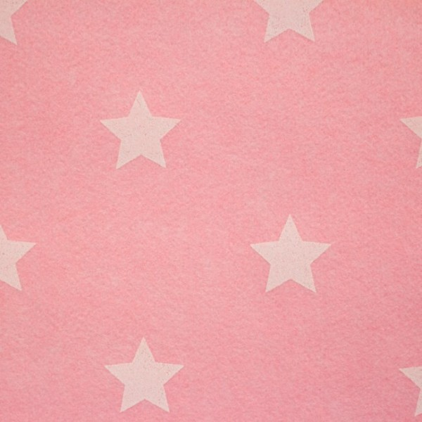3,0 mm Filz-Stars-90 cm breit-Hellrosa