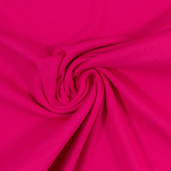 Bündchen-Heike-50er Schlauch-glatt-Pink