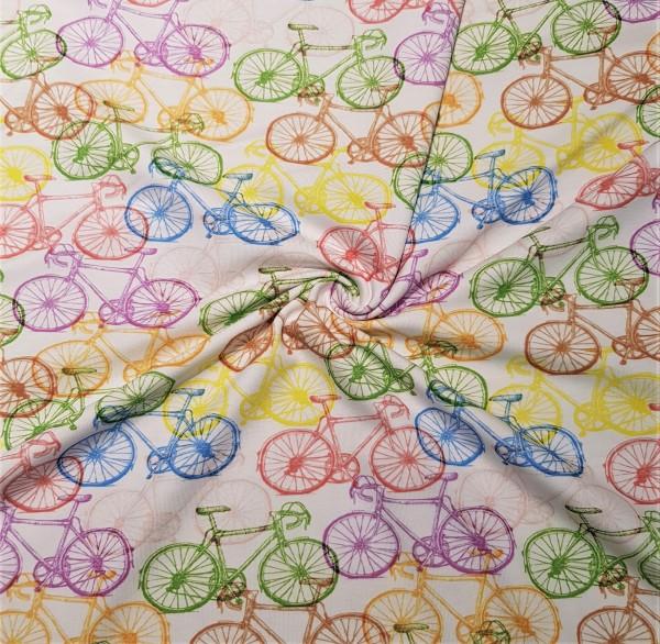 Jersey-Bunte Fahrräder