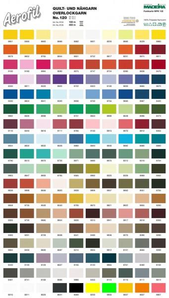 Madeira-Aerofil-No.120- 400 Meter Spulen-180 Farben