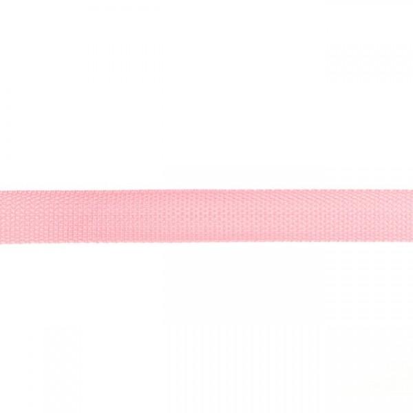 Gurtband-25 mm-Polypropylen-Hellrosa