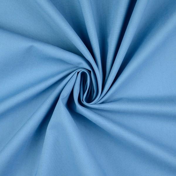 Baumwolle-Fahnentuch-Petra-Jeansblau