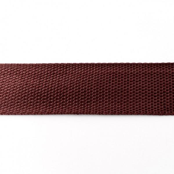 Gurtband-40 mm-Polypropylen-Choco