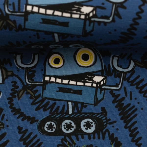 Jersey-Roboter-Blau