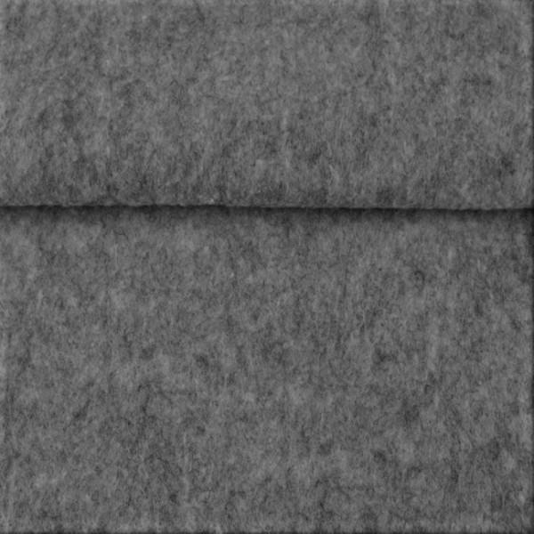 5,0 mm Filz-Carsten-22 cm x 25 cm Platten-Hellgrau meliert