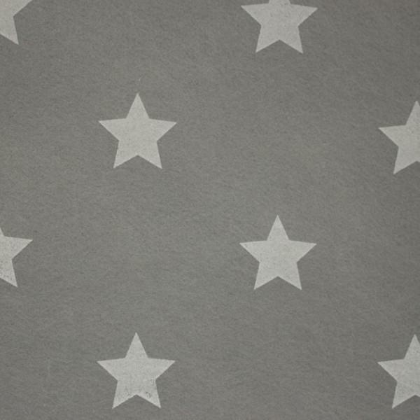 3,0 mm Filz-Stars-90 cm breit-Grau