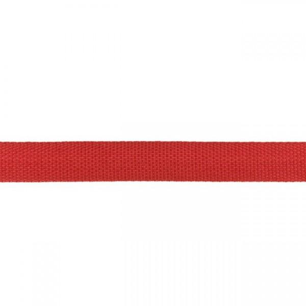 Gurtband-25 mm-Polypropylen-Bordeaux