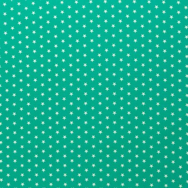 Baumwolle-Carrie-Sterne-Mint