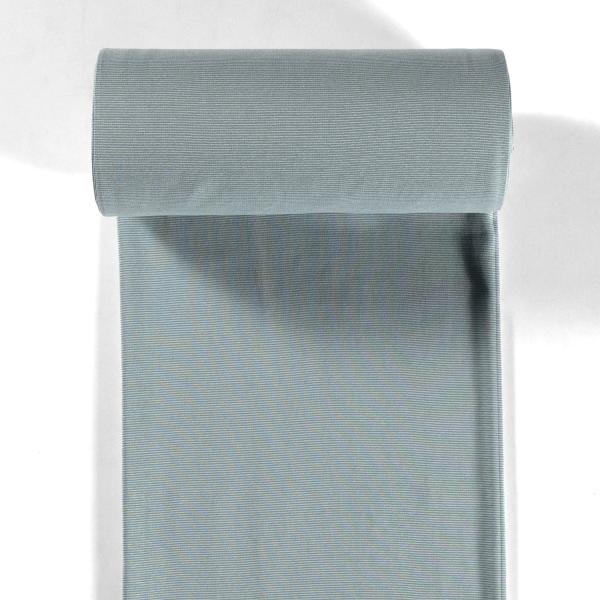 Bündchen-Steffi-35er Schlauch-Streifen-Altgrün