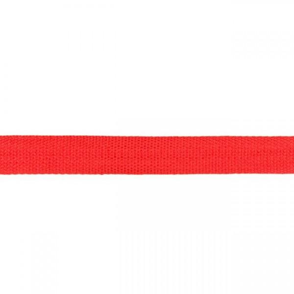 Gurtband-25 mm-Polypropylen-Rot