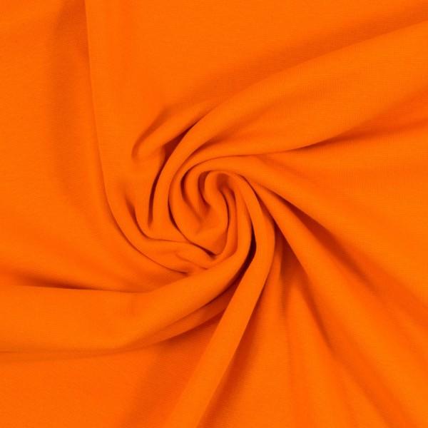 Bündchen-Heike-50er Schlauch-glatt-Orange