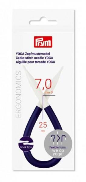 YOGA Zopfmusternadel, prym.ergonomics, 7,0 mm, 1 Stück