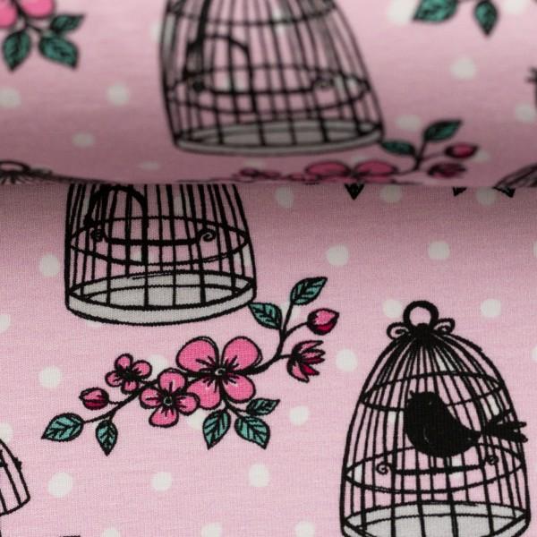 Jersey-Vogelkäfig-Rosa