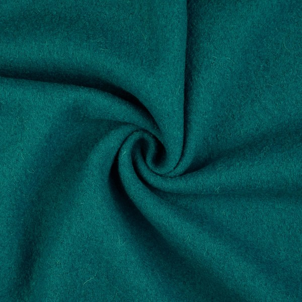 Walkloden-Laura-Walkstoff-100 % Wolle-Ozeanblau