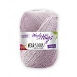 Wolly Hugs-Years Sock- Verlaufsgarn-Januar