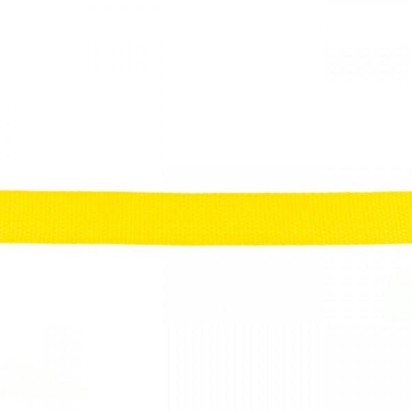 Gurtband-25 mm-Polypropylen-Gelb