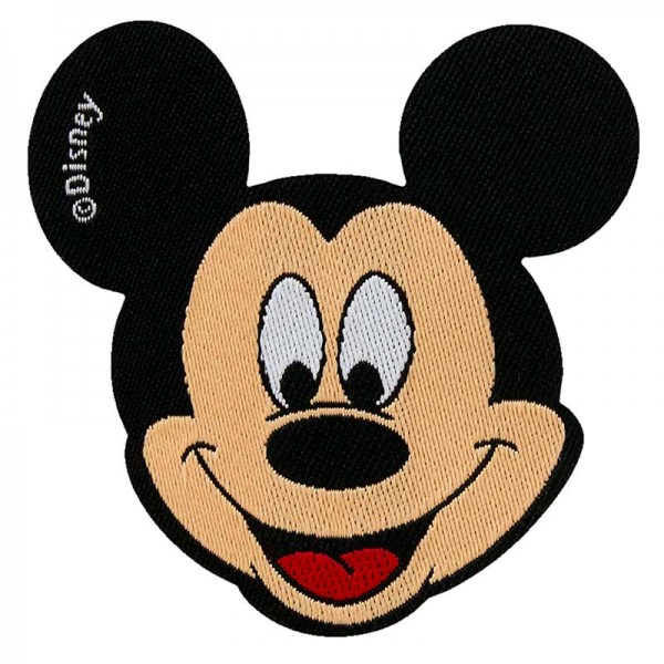 Aufbügler & Applikation-Mickey
