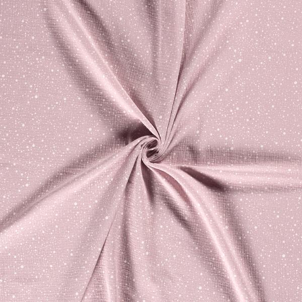 Musselin-Bärbel-Punkte-Altpink