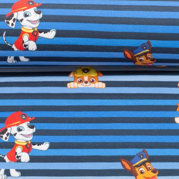 PAW Patrol-Hunde mit Streifen-blau