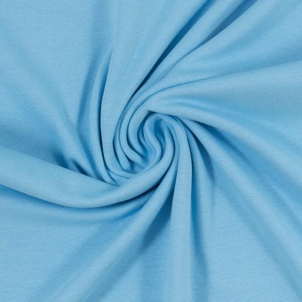 Bündchen-Heike-50er Schlauch-glatt-Babyblau