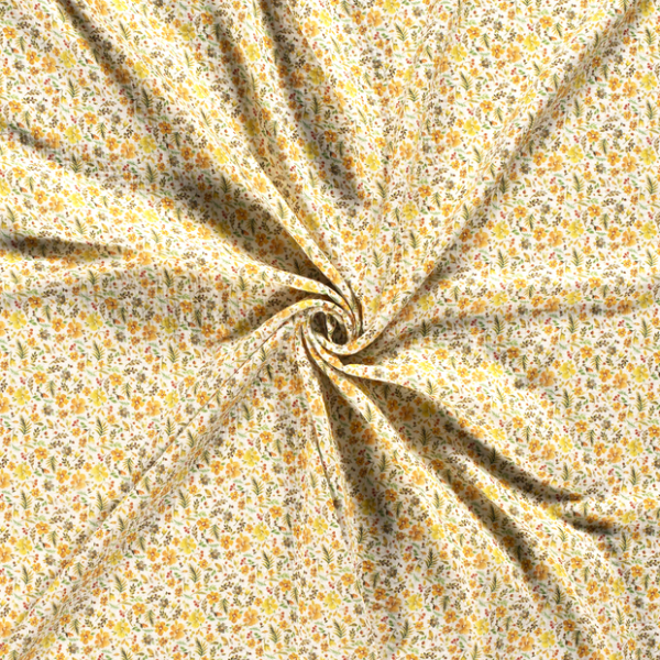 Musselin-Blumen-Grauweiss