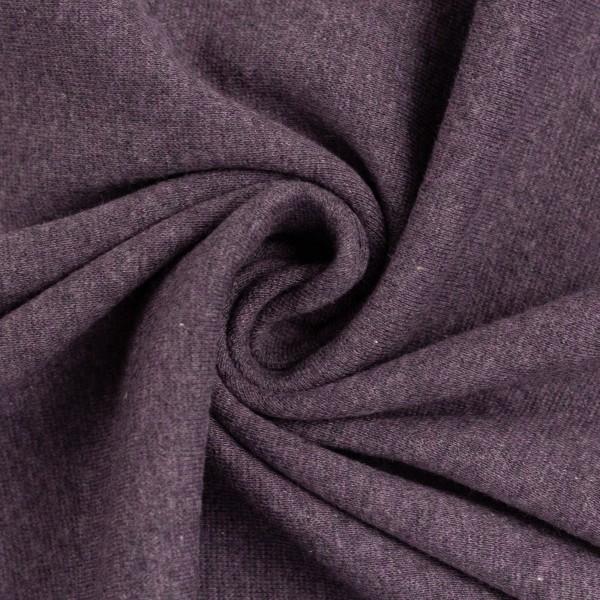 Sweat-Eike melange-angeraut-Violett